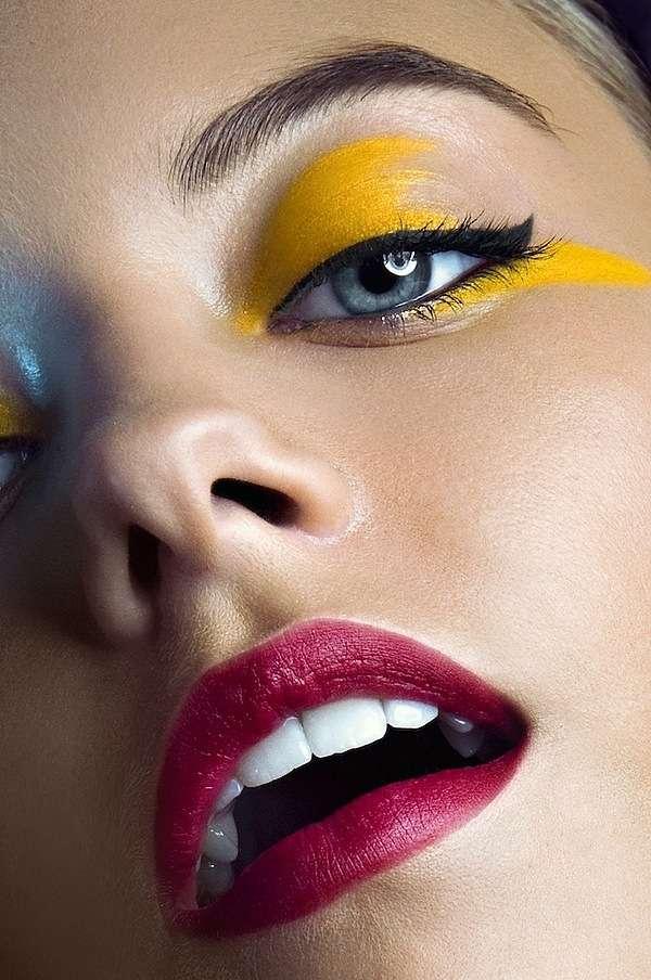 Glamorous Cosmetic Close-Ups