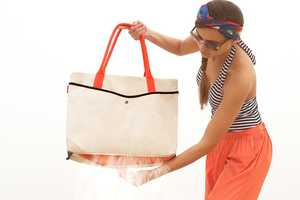 The Sand-Resistant Shake Tote Keeps Your Beach Necessities Sand-Free