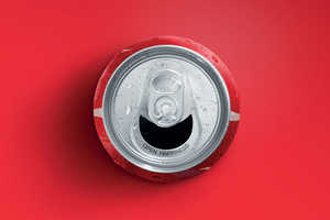 The Coke 'Happy Can' Smiles at You When Opened