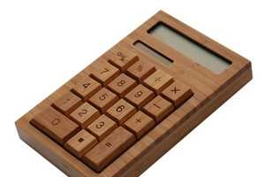 This Bamboo Calculator is Ideal for Eco-Conscious Mathematicians