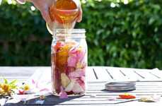 DIY Flower-Infused Honey - This Rose Petal Honey Recipe Makes Colorfully Sweet Floral Honey