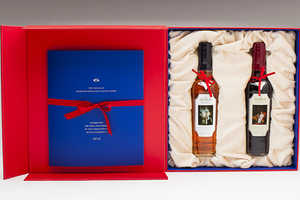 This Macallan Bottle Packaging Honors the Queen's Coronation Anniversary
