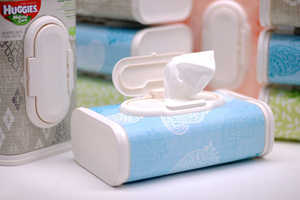 The New Baby Wipe Box Designs by Huggies Blend in Fashionably