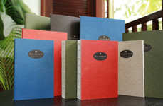 Upcycled Tree-Free Stationery - This Upcycled Stationery by Palm Republik Recycles Biomass Waste