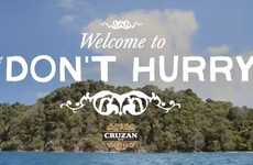 Witty Carefree Rum Commercials
