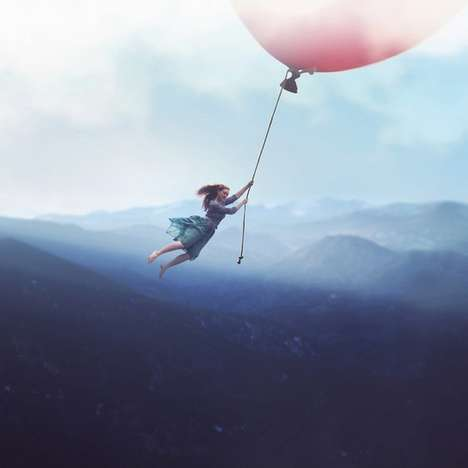 Whimsically Surreal Photography - 14-Year-Old Photographer Fiddle Oak Creates Dreamy Scenes