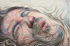 Swirled Self Portraits