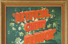 Art-Defacing Typographic Paintings