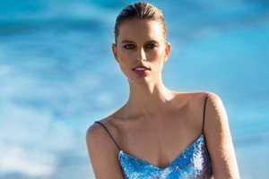 The New Karolina Kurkova Vogue Ukraine Editorial Shimmers and Shines