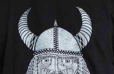 Zany Bearded Viking Portraits