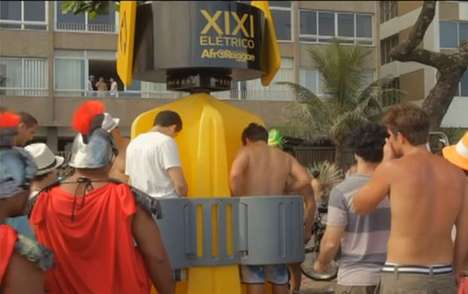 Pee-Powered Party Campaigns - The 'Electric Pee' Campaign Transformed Urine into Music
