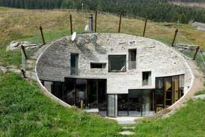 The Villa Vals Switzerland Vacation Homes are Inside the Alps