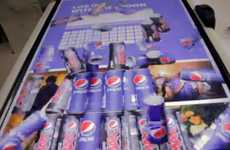 Social-Powered Vending Machines - The Pepsi 'Like Machine' Dispenses Sodas for Likes