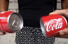 Split Up Soda Cans