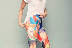 These Street Fighter II Leggings are Boldly Graphic and Daring