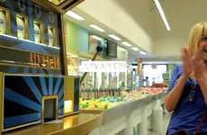 Food Slot Machine Ads - The 'Foot Slot' Machine Dispenses Random Mayo-Inspired Samples