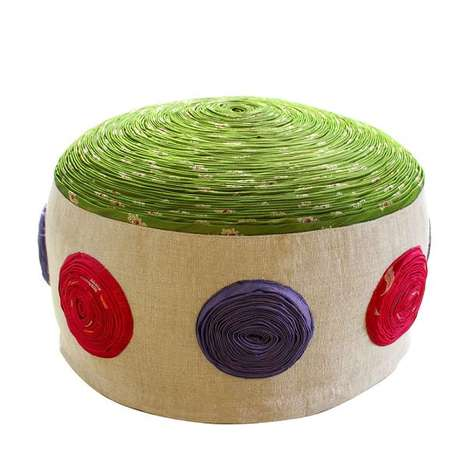 Colorful Poufs