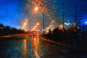 Get a Drenched Perspective Through Tom Birkner's Rainy Day Paint