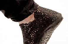 Printed Pliable Footwear - Earl Stewart Uses 3D Printing Technology to Create His XYZ Shoes