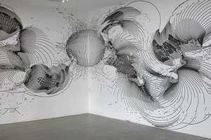 The Wall Drawings of Gerhard Mayer Seem to Float off into the Air
