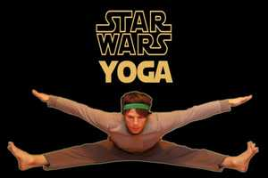 The Star Wars Yoga Poses Provide a New Means of Getting Fit