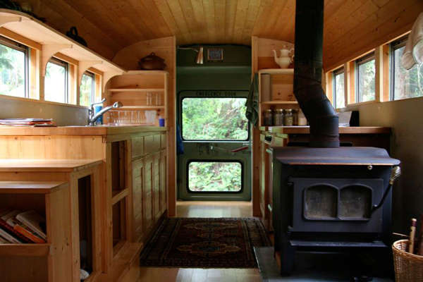 Chic Converted Bus Homes