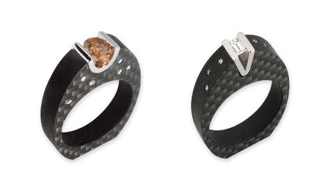 Luxury Carbon Fibre Jewelry - The RINGL Fine Carbon Fibre Collection is a New Approach to Luxury
