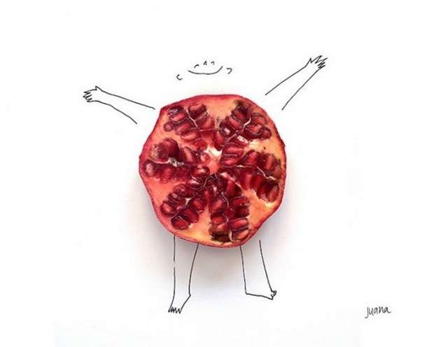 Juicy Produce Art Creations