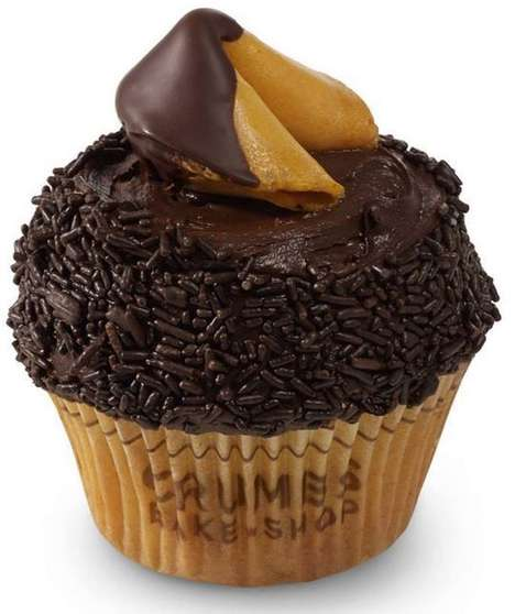 Crumbs Fortune Cookie Cupcake