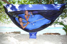 Cozy Bunk Bed Tents - The Sky Tent 2 Offers Tree Huggers a Neat Tent Alternative