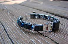 DIY Scrap Electronic Bracelets