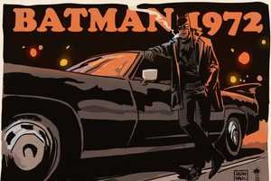 These Pulp Fiction Batman Illustrations are a Dark Take on Batman