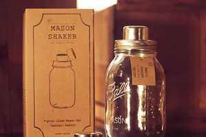 These Mason Jars Cocktail Shakers are for Rustic Outdoor Parties