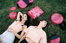 Pink Plastic Bag Collections - LiTE New York Channels the '90s with its Summer Collection