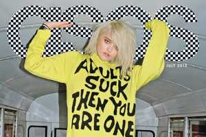 Sky Ferreira Channels a Punk Attitude for the ASOS Taps Cover