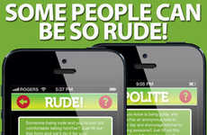 Proper Etiquette-Encouraging Apps