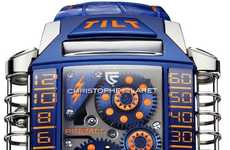 Miniature Arcade Watches - The Christophe Claret X-TREM-1 Pinball Watch Tells Time Through a Game