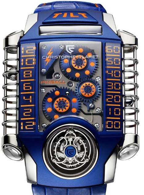 Christophe Claret X-TREM-1 Pinball watch