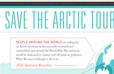 Greenpeace's 'Save the Arctic Tour' Infographic Examines State of the Ice