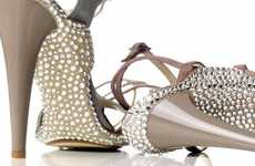 25 Sparkly Prom Perfect Heels - From Cinderella-Inspired Footwear to Sparkly Flaming Pumps