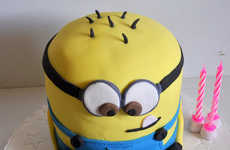 Cartoon Villain Cakes - This Despicable Me Cake Depicts Adorable Minions at Their Tastiest