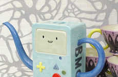 The Adventure Time BMO Teapot Pays Tribute to Finn and Jake's Gaming System