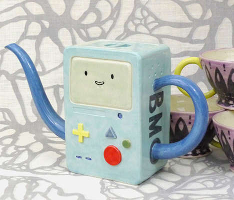 Adventure Time BMO teapot