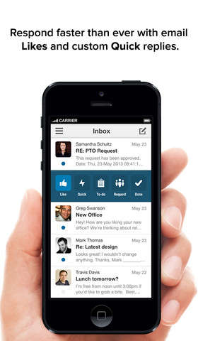 Social Media-Inspired Email Apps - The New Boxer Email App Lets You 'Like' Emails Just L