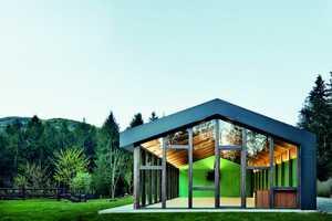 The 'Multifunctional Pavilion' in Viladrau, Spain is Modern