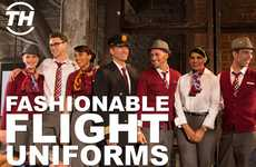 Fashionable Flight Uniforms