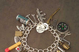 This Zombie Survivor Charm Bracelet is Perfect for Apocalypse Lovers