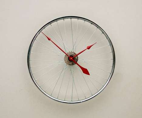 upcycled bicycle parts