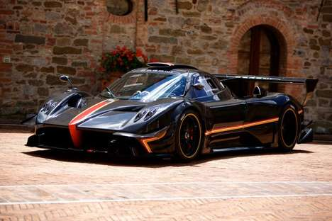 Celebratory Bookend Supercars - The Pagani Zonda Revolucion Signals the End of the Model's Run
