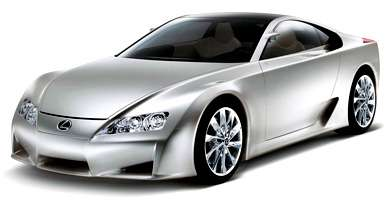 Lexus LF-A 500 HP Concept Car